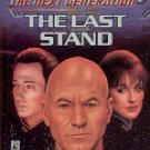 STAR TREK - THE NEXT GENERATION BOOK # 37 THE LAST STAND BY BRAD FERGUSON 1995 PAPERBACK BOOK MINT