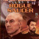 STAR TREK THE NEXT GENERATION # 39 ROGUE SAUCER BY JOHN VORNHOLT 1996 PAPERBACK BOOK NEAR MINT