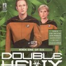 STAR TREK - THE NEXT GENERATION BOOK # 50 DOUBLE HELIX INFECTION (BOOK 1 OF 6) PAPERBACK BOOK MINT