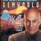 STAR TREK - THE NEXT GENERATION BOOK # 59 GEMWORLD (BOOK TWO OF TWO) PAPERBACK BOOK NEAR MINT