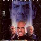 STAR TREK - THE NEXT GENERATION CROSSOVER BY MICHAEL JAN FRIEDMAN 1996 PAPERBACK BOOK VGOOD COND