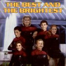 STAR TREK THE NEXT GENERATION THE BEST & THE BRIGHTEST BY SUSAN WRIGHT 1998 PAPERBACK BOOK NEAR MINT