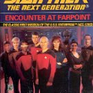 STAR TREK - THE NEXT GENERATION  ENCOUNTER AT FARPOINT BY DAVID GERROLD 1987 PAPERBACK BOOK VGOOD