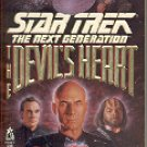 STAR TREK - THE NEXT GENERATION THE DEVIL'S HEART BY CARMEN CARTER 1994 PAPERBACK BOOK VGOOD