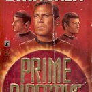 STAR TREK - PRIME DIRECTIVE BY JUDITH & GARFIELD REEVES 1991 PAPERBACK BOOK GOOD CONDITION