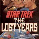 STAR TREK - THE LOST YEARS BY J. M. DILLARD 1990 PAPERBACK BOOK NEAR MINT