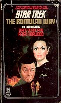 STAR TREK # 35  THE ROMULAN WAY BY DIANE CAREY 1987 PAPERBACK BOOK GOOD CONDITION