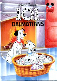 WALT DISNEY'S  101 DALMATIANS 1ST AMERICAN EDITION 1995 CHILDREN'S HARDBACK BOOK MINT