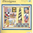 BOBBIE G. DESIGNS SUMMER DESIGN COUNTED CROSS STITCH KIT DESIGNS BY BARBARA SMITH CRAFT KIT NEW MINT