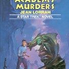 THE VULCAN ACADEMY MURDERS  by JEAN LORRAH STAR TREK NOVEL 1984 HARDBACK BOOK VERY GOOD
