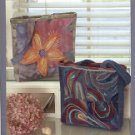 INDYGO JUNCTION  TWO TIMES TWO TOTE NEEDLE FELTING or EMBROIDERY by DIANE McCAULEY CRAFT BOOK NEW