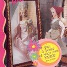 BARBIE THE PEASANT OR THE PRINCESS by RITA BALDUCCI  MATTEL 1998 CHILDREN'S HARDBACK BOOK NEAR MINT