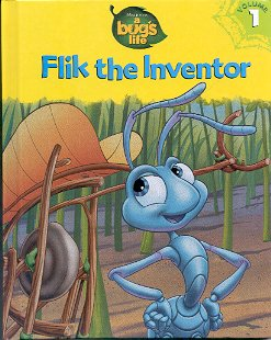 DISNEY PIXAR A BUG'S LIFE FLIK THE INVENTOR VOLUME 1 1998 CHILDREN'S HARDBACK BOOK NEAR MINT