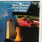GREAT JAZZ PIANISTS OF OUR TIME 1965 W/OSCAR PETERSON/ERROLL GARNER & ART TATUM 33 RPM ALBUM MINT