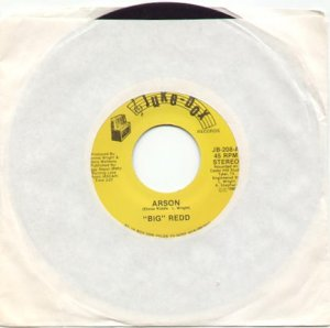 ARSON (BIG REDD) & YOU'RE MY KINDA' GIRL by TOMMY CLOUDT & DESIREE - JUKEBOX 45 RPM RECORD #133 MINT