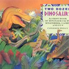 TWO DOZEN DINOSAURS BY CATHERINE RIPLEY 1991 CHILDREN'S HARDBACK BOOK NEAR MINT