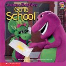 BARNEY & BABY BOP GO TO SCHOOL by MARK S. BERNTHAL 2001 CHILDREN'S HARDBACK BOOK NEAR MINT