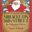MIRACLE ON 34TH STREET by VALENTINE DAVIES 1998 CHILDREN&#39;S HARDBACK BOOK NEAR MINT