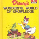 WONDERFUL WORLD OF KNOWLEDGE - NATURE  VOLUME # 2 DISNEY'S CHILDREN'S HARDBACK BOOK NEAR MINT