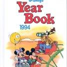 DISNEY'S  YEAR BOOK 1994 CHILDREN'S HARDBACK BOOK NEAR MINT