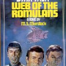 STAR TREK # 10  WEB OF THE ROMULANS by M.S. MURDOCK 1983  PAPERBACK BOOK NEAR MINT
