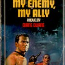 STAR TREK # 18 MY ENEMY MY ALLY  by DIANE DUANE 1984 PAPERBACK BOOK GOOD CONDITION
