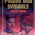 STAR TREK  # 26 PAWNS AND SYMBOLS  by MAJLISS LARSON 1985  PAPERBACK BOOK VERY GOOD CONDITION