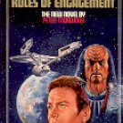 STAR TREK  # 48 RULES OF ENGAGEMENT  by PETER MORWOOD 1990 PAPERBACK BOOK NEAR MINT