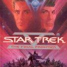 STAR TREK V - THE FINAL FRONTIER  by J.M. DILLARD 1989  PAPERBACK BOOK NEAR MINT