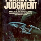 STAR TREK - PLANET OF JUDGMENT by JOE HALDEMAN 1977 PAPERBACK BOOK VERY GOOD