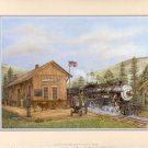 2002 PRINT #13: PINE VALLEY STATION MINT