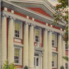 UNION UNIVERSITY JACKSON TENNESSEE LINEN POSTCARD #40 USED IN 1944