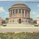 ELK'S NATIONAL MEMORIAL CHICAGO ILLIONOIS LINEN POSTCARD #102 UNUSED