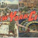 NEW YORK CITY LINEN POSTCARD #111 UNUSED