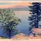 LAKE ARROWHEAD CALIFORNIA LINEN POSTCARD #145 UNUSED