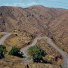 HAIRPIN CURVES ON LARIAT TRAIL TO LOOKOUT MOUNTAIN COLORADO PICTURE POSTCARD #155 USED 1961