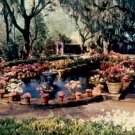 MAIN COURTYARD FOUNTAIN BELLINGRATH GARDENS MOBILE ALABAMA PICTURE POSTCARD #202 UNUSED