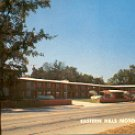 EASTERN HILLS MOTOR HOTEL 3422 SAMUELL BLVD. DALLAS TEXAS  PHONE V1-1633 RPPC POSTCARD #236 UNUSED