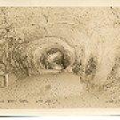 LONG PERFECT DOME - LAVA CAVE MYRICK L-11 RPPC REAL PICTURE BLACK & WHITE POSTCARD #243 UNUSED