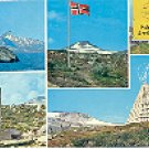 ARCTIC CIRCLE - NORWAY  M-5652-2 COLOR PICTURE POSTCARD #257 USED 1977
