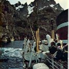 THE EXPRESS COASTAL LINER IN TROLLFJORDEN NORWAY COLOR PICTURE POSTCARD #264 UNUSED