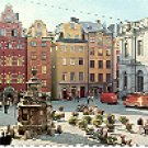 STOCKHOLM STORTORGET COLOR PICTURE POSTCARD #265 UNUSED
