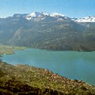 BRIENZ.  BRIENZERSEE MIT WILDGERST UND FAULHORN COLOR PICTURE POSTCARD #267 UNUSED