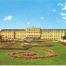 WIEN (VIENNA) SCHLOFS SCHONBRUNN SCHLOFS MIT BLUMENPARTERRE COLOR PICTURE POSTCARD #270 UNUSED