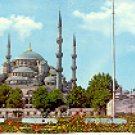 THE BLUE MOSQUE ISTANBUL TURKEY COLOR PICTURE POSTCARD #286 UNUSED
