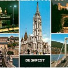 BUDAPEST  HUNGARY COLOR PICTURE POSTCARD #290 UNUSED