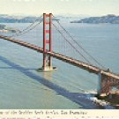 THE GOLDEN GATE BRIDGE SAN FRANCISCO CALIFORNIA COLOR PICTURE POSTCARD #301 UNUSED