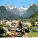 OCHSENHORN - REIFHORN - BREITHORN MOUNTAINS SALZBURG AUSTRIA COLOR PICTURE POSTCARD #306 UNUSED