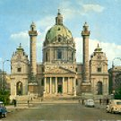 WIEN KARISKIRCHE SWITZERLAND COLOR PICTURE POSTCARD #315 UNUSED