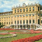SCHOENBRUNN CASTLE - WIEN - VIENNA SWITZERLAND COLOR PICTURE POSTCARD #320 UNUSED
